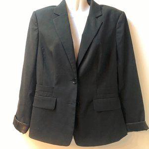 Banana Republic Black Suit Blazer